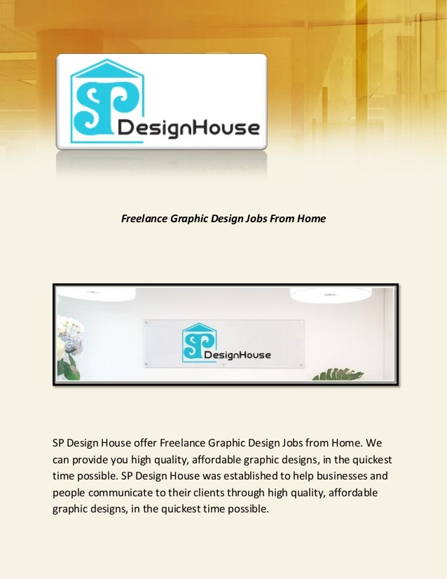 Best Freelance Graphic Design Jobs From Home Ideas Decorating