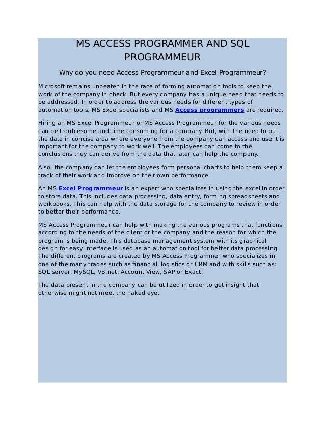 Freelance programmeur - florijn com