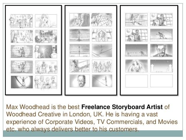 UK's No 1 Freelance Storyboard Artist- Max Woodhead
