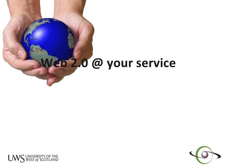 Web 2.0 @ your service