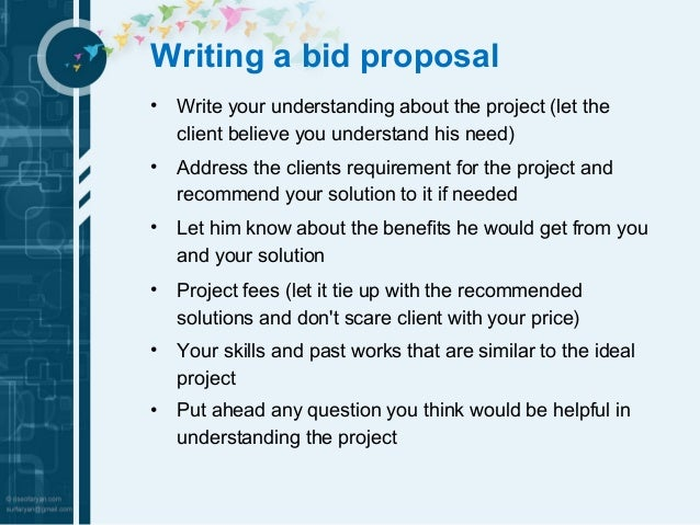Doc21313027 Bidding Proposal Sample proposal sample 90 – Bid Proposal Example