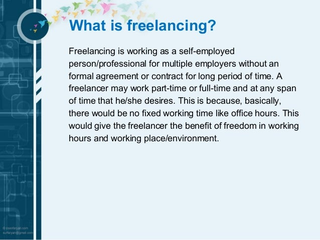 What When And How About Freelancing