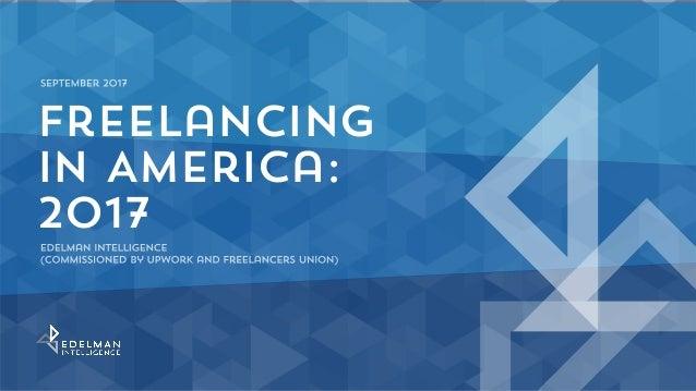Freelancing in America: 2017