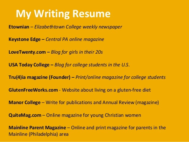Professional Resumes Writing Services