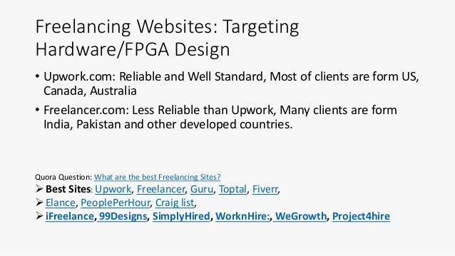 Freelancing on FPGA Design [How & Where to get Freelancing on FPGA]