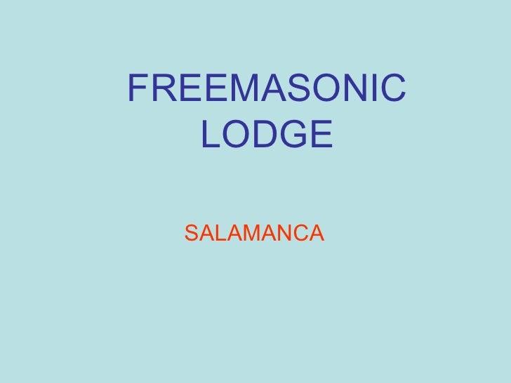 FREEMASONIC   LODGE  SALAMANCA