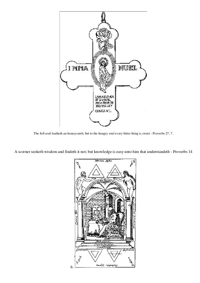 Freemasonry 046 Secret Symbols Of The Rosicrucians