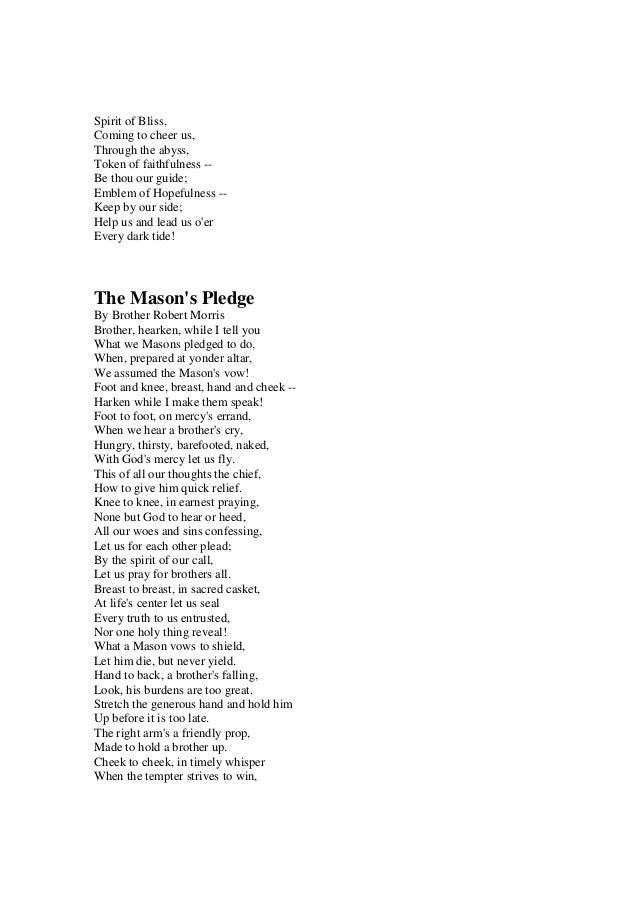 Freemasonry 081 The Masonic Life Poems