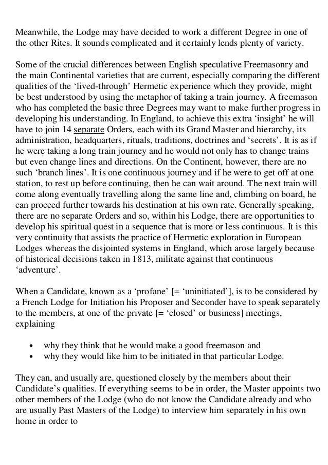 Freemasonry 120 western hermetic tradition