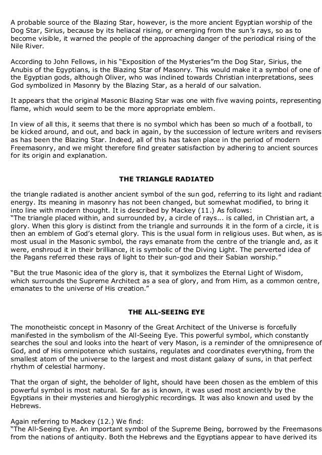 Freemasonry 128 Ancient Regligious Traditions And Symbols In Freemaso