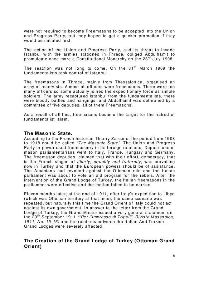 Freemasonry 196 the history of freemasonry in turkey