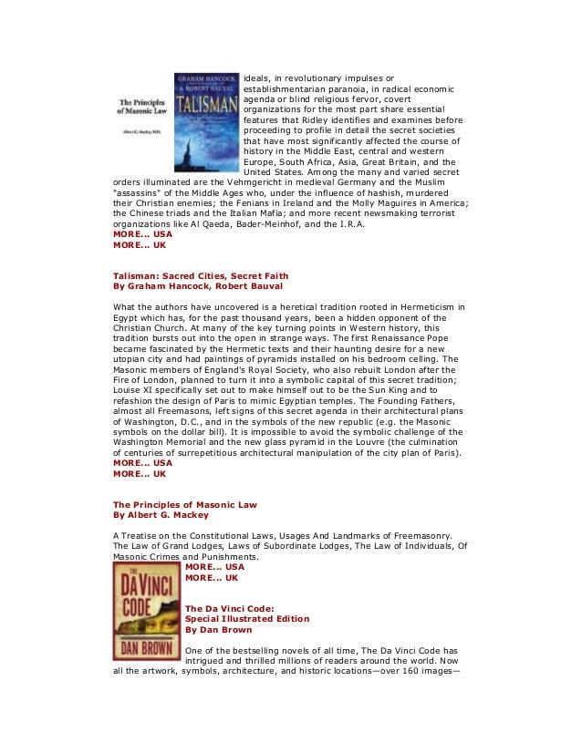 Freemasonry 252 masonic books 31 fandeluxe Images