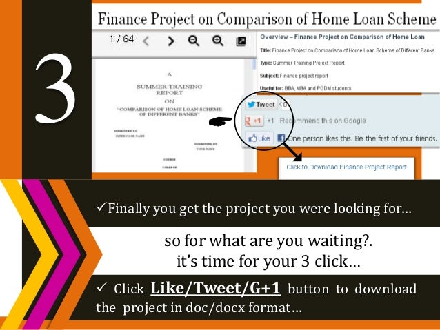 finance dissertation projects