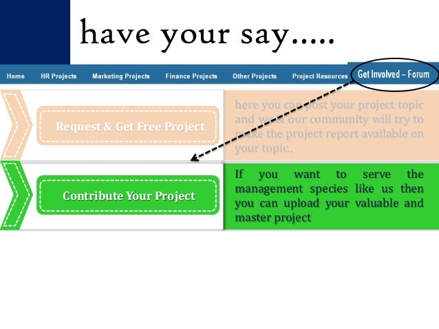 marketing projects download