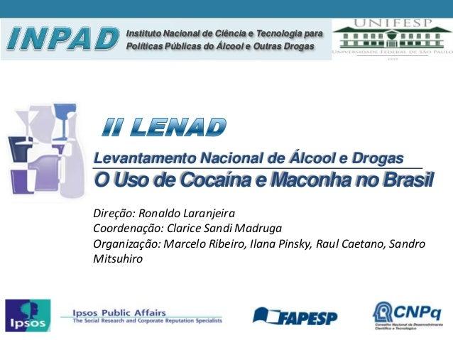 Instituto Nacional de Ciência e Tecnologia para      Políticas Públicas do Álcool e Outras DrogasLevantamento Nacional de ...