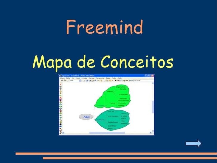 Freemind Mapa de Conceitos