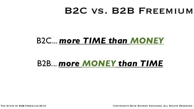 The State of B2B Freemium 2013 Slide 2