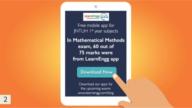 Free mobile app for JNTUH and Anna University engineering exams Slide 3