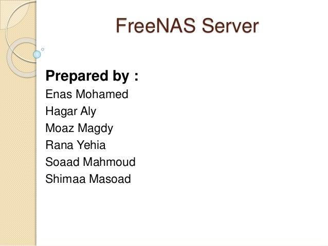 Free nas server