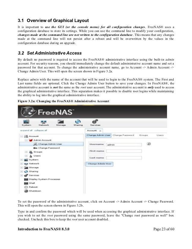 Freenas Tutorial EuroBSDCon 2012