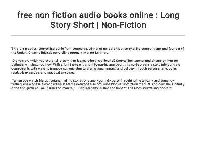 free non fiction audio books online : Long Story Short   Non