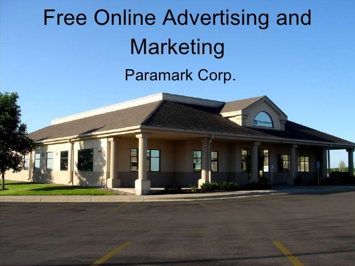 Free Online Advertising and Marketing Paramark Corp.
