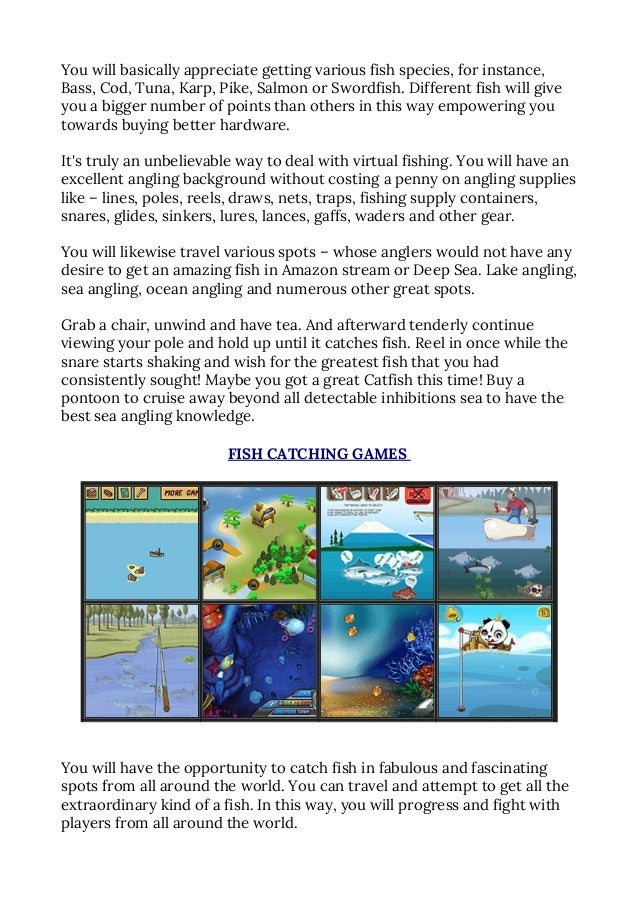 Free online fishing games you can play right now for Free online fishing games