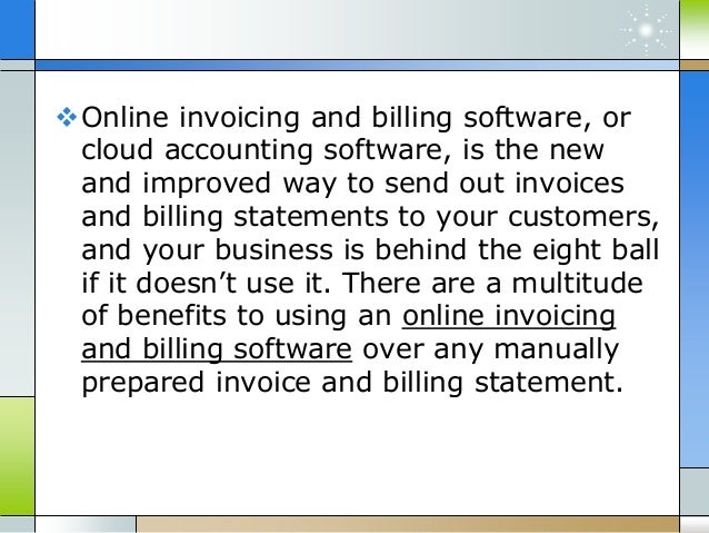 free online invoicing and billing software for small businesses