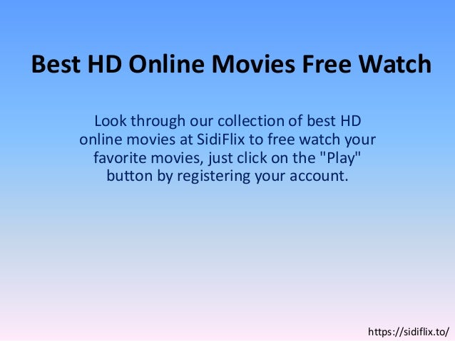 play and watch movies free online