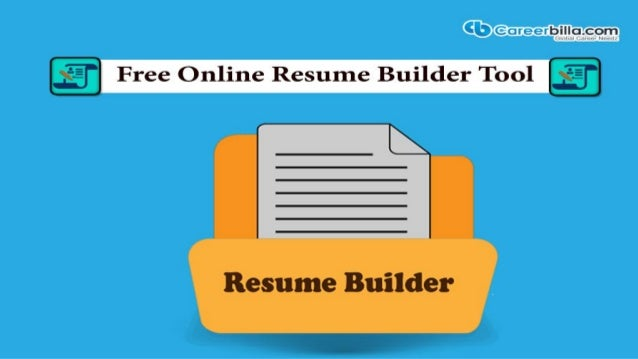 free online resume builder tool in job searching process resume is an important material needed to present a candidates skills