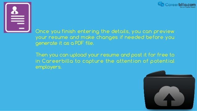 start your new career with careerbillacom