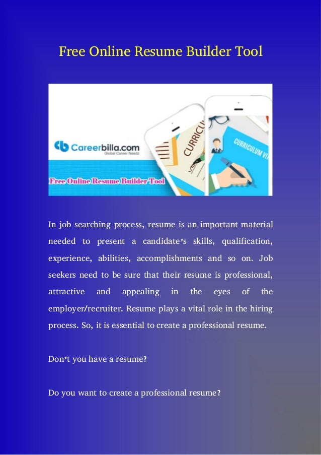 free online resume builders resume templates and resume builder