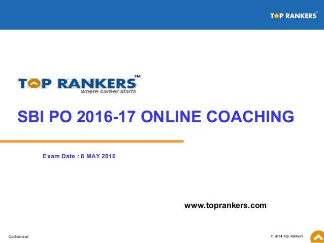 sbi po exam details 2014