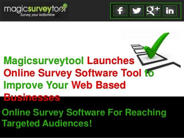 free online survey creator