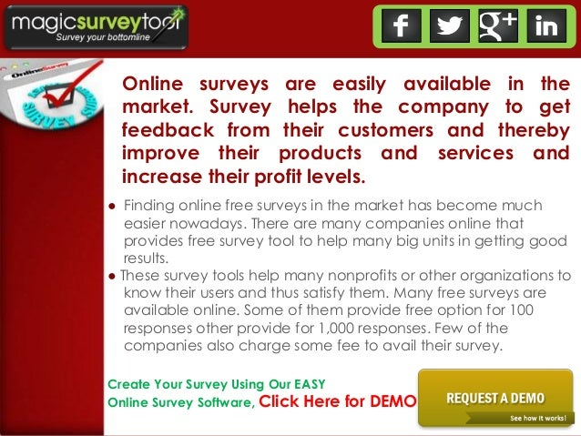 free online survey software questionnaire tool