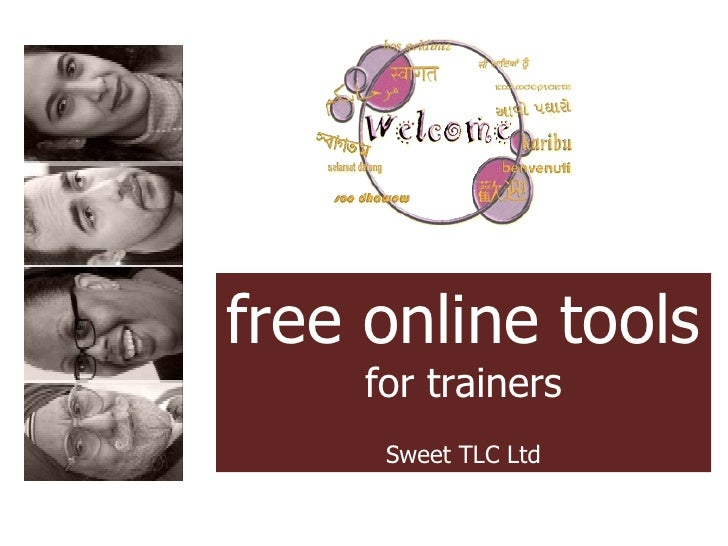 free online tools for trainers Sweet TLC Ltd