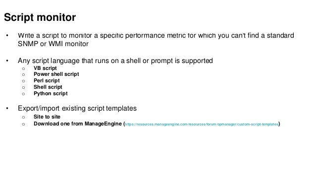 Free OpManager training_ Part 2-server monitoring