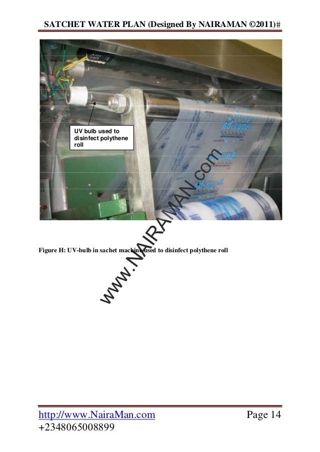 Sachet water business plan