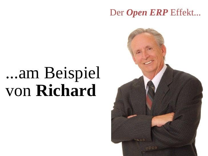 Der Open ERP Effekt...     ...am Beispiel von Richard