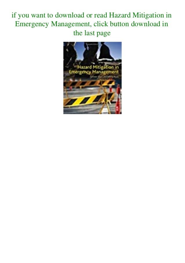 if you want to download or read Hazard Mitigation in Emergency Management, click button download in the last page