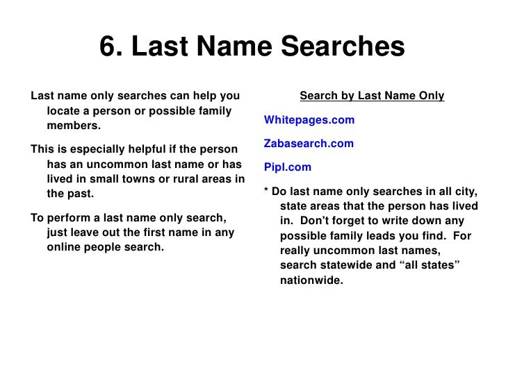 People Search Tips To Help You Find People Online