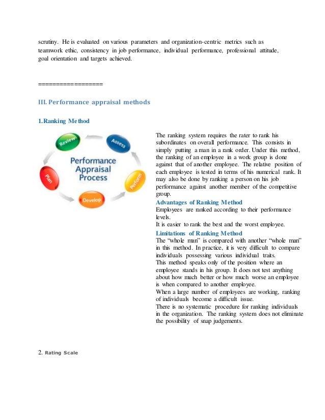 Free performance appraisal templates – Appraisal Templates