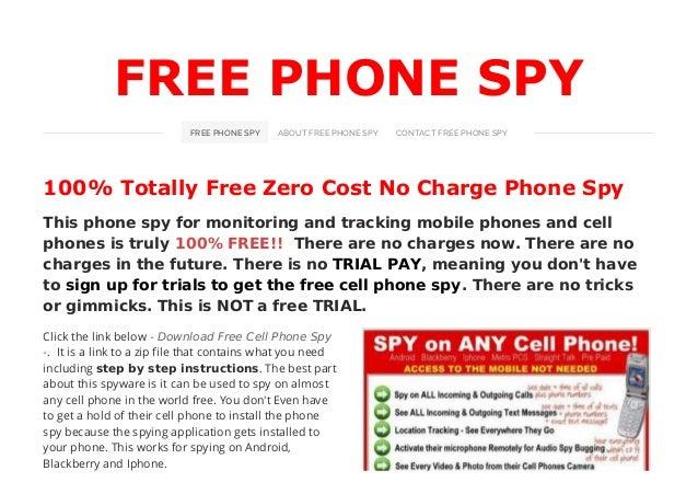 Free phone spy install instructions manual