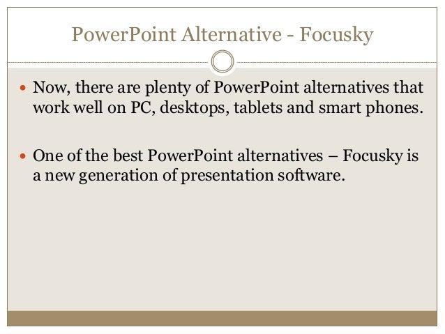 focusky free powerpoint alternative