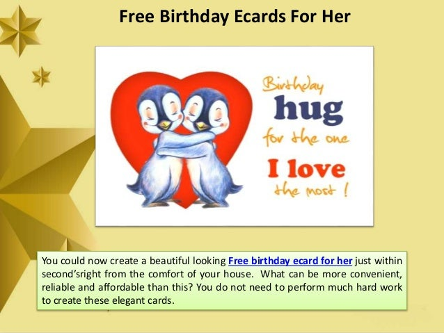 Free Email Birthday Cards For Her gangcraftnet