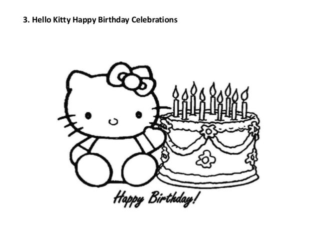 Hello Kitty Happy Birthday Celebrations
