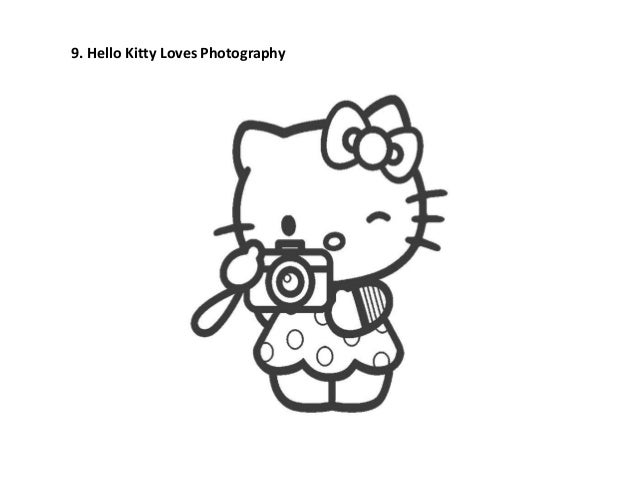 Hello Kitty Loves Photography