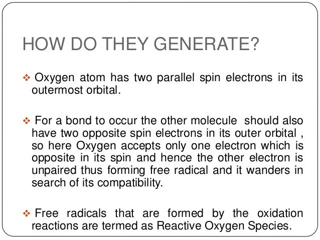 Free radicals Slide 3