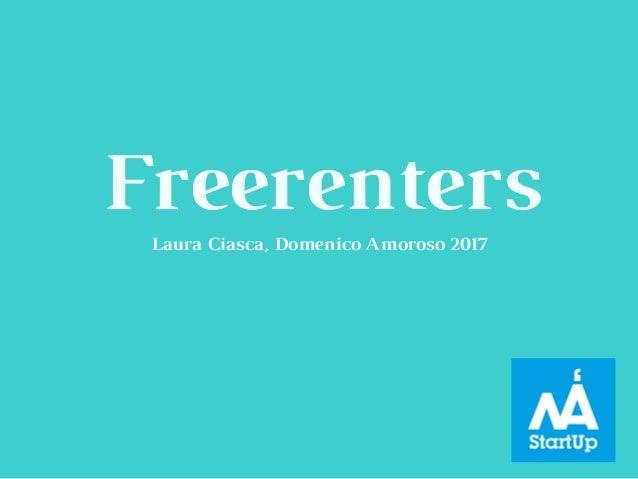 FreerentersLaura Ciasca, Domenico Amoroso 2017