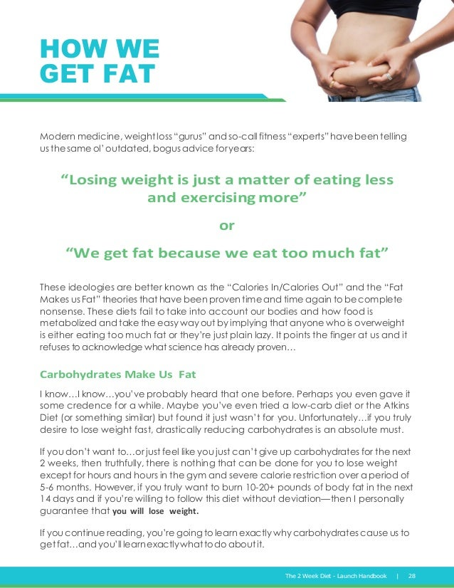 Free Report 2 Week Diet By Brian Flatt